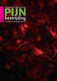Tijdschrift Pijn - Pijn Kennis Centrum