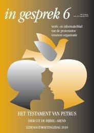 Juni, juli, augustus - Protestantse Vrouwen Organisatie