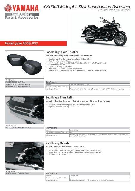 Yamaha 2C5-F16C0-V0-00 Tall Quick-Release Passenger Backrest System