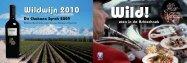 Achterhoekse Wildwijn 2010 - Wild Eten in de Achterhoek