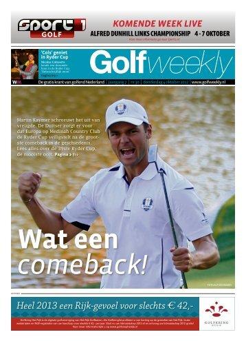 Golf Weekly 2012 editie 30