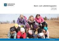 Barn- och utbildningsplan 2013-2016 - Karlskoga kommun