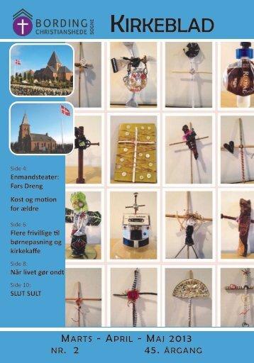 Kirkebladet marts-maj 2013 - Bording Kirke