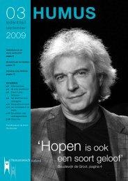 'Hopen is ook - Humanistisch Verbond