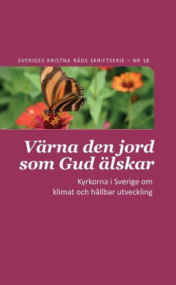Värna den jord som Gud älskar - Sveriges kristna råd