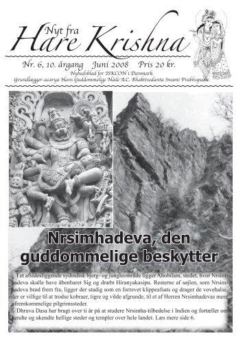 Nrsimhadeva, den guddommelige beskytter - Nyt fra Hare Krishna