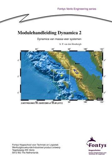 Modulehandleiding in Nederlands - Dynamica 2