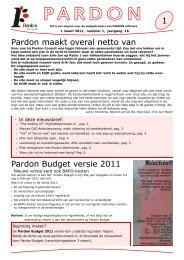 Pardon maakt overal netto van Pardon Budget ... - Pardon Consult