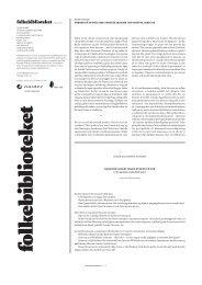 folkebiblioteket april 2011 - blogg - Deichmanske bibliotek
