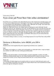 Fyra viner på Pinot Noir från olika världsdelar! - VinNet