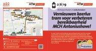 Vernieuwen keerlus tram voor verbeteren bereikbaarheid ... - Htm