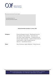 Referat fra møde den 31. januar 2013 - Økonomidirektørforeningen