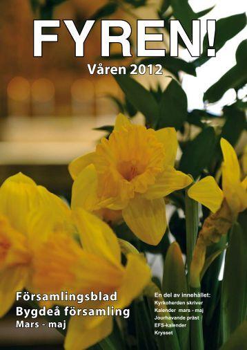 Fyren 1-2012 - Bygdeå församling
