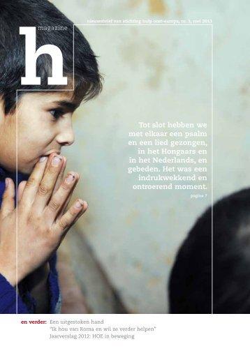 hmagazine 3 mei 2013.pdf - stichting Hulp Oost Europa