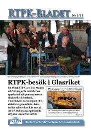 Medlemsblad #1/11 - RTPK