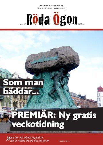 Download (PDF, 3.4MB) - Malmös socialistiska veckotidning