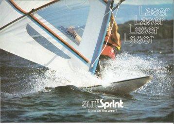 Laser SurfSprint - zeilclub VVW Turnhout