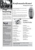 Kirkebladet juni 2009 - Dybbøl Kirke - Page 6