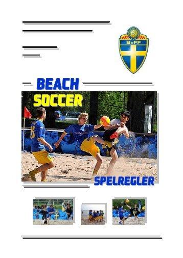 Spelregler för Beach Soccer (PDF-dokument, 714 kB) - Fogis