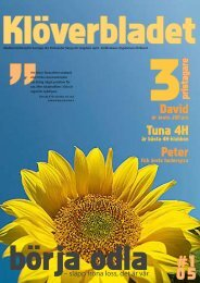 Nummer 1 2005 - Sveriges 4H