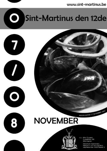 November - Sint-Martinus