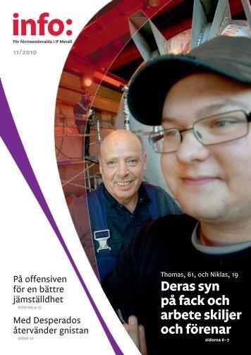 Info nr 11/2010 - IF Metall