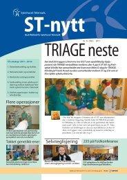 ST-Nytt nr. 6, 2011 - Sykehuset Telemark