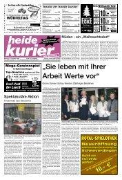 10.-€ 10.-€ 10.-€ - Heide Kurier