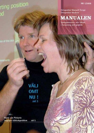 manualen nr 1 2006 - omt sweden