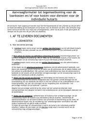 Aanvraagformulier - Vlaams Artsensyndicaat