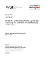 Rechtliche und rechtspolitische Aspekte der Sicherung von ...