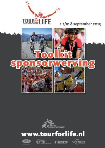 Toolkit sponsorwerving - Tour for Life