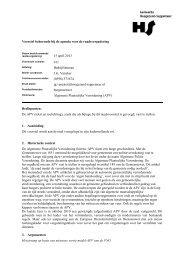 2013-04-15 RV 011 APV 2013 - Gemeente Hoogezand-Sappemeer