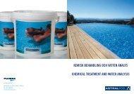 kemisk behandling och vatten analys chemical treatment ... - Fluidra