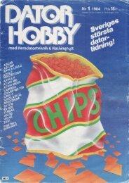 DatorHobby nr 1, 1984