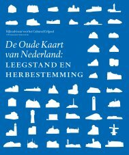 De Oude Kaart van Nederland: leegstand en herbestemming