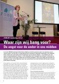 FORUM magazine, winter 2010, jaargang 5 - Forum, Instituut voor ... - Page 6