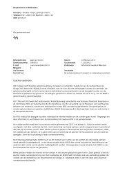 De gemeenteraad CC Geachte raadsleden, - Gemeente Utrecht
