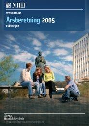NHH - Årsberetning 2005