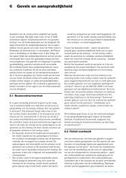 SBR Handboek Veilige Gevels hoofdstuk 6 - Fundament Advocatuur