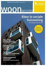Woonwoord nr 17 (pdf - 2,57 Mb) - Vlaamse Maatschappij voor ...