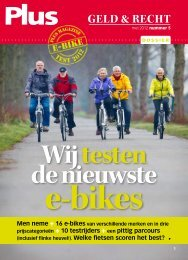 het blad Plus - Wheels2Drive Tweewielers/Scooters