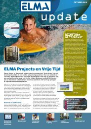 ELMA update   oktober 2010 - Elma BV
