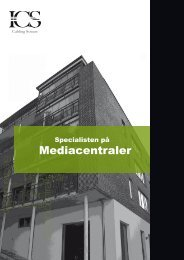 Mediacentraler - ICS Cabling System