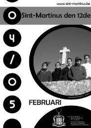 Februari - Sint-Martinus