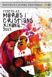 """""""filaes"""" y bandas de música - Festes Moros i Cristians Xixona"""