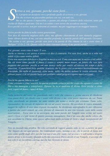 SCRIVO A VOI, GIOVANI pdf - STAUROPOLIS
