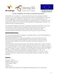 Instruks til udfyldelse af timesedler på Interreg Pro Hip projektet. I ...
