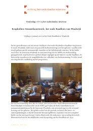 Studiemiddag Waalwijk[2] - Stichting Het Nederlandse Interieur