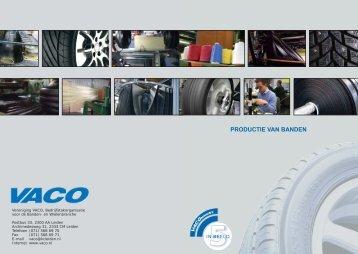 VACO Nieuws In Beeld: Productie van Banden. - Saris 4x4